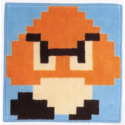 Super Mario Bros. Dot Design Mat: Type C Goomba