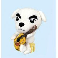 Animal Crossing 7'' Plush Doll Collection 2: Totakeke (K.K. Slider)