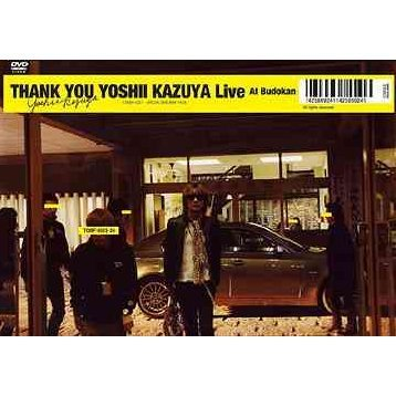 Thank You Yoshii Kazuya Live At Budokan [DVD+CD Limited Edition]