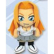 Bleach School Uniform Plush Doll Part 4: Rangiku Matsumoto