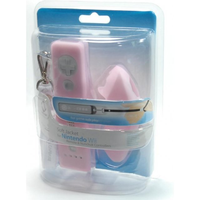 Soft Jacket for Controller (tinted pink)