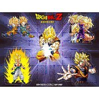 Dragon Ball Z Screenguard & Sticker Set Vol.1