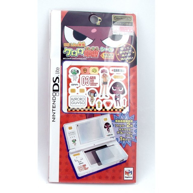 Keroro Gunsou Screenguard & Sticker Set - Giroro Version