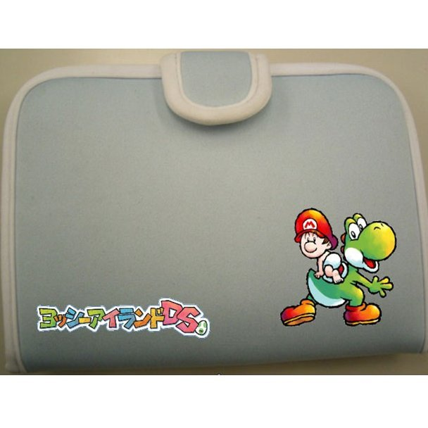 Yoshi Island DS Cushion Pouch (light blue)