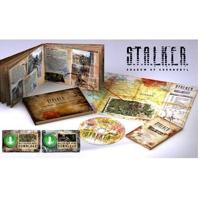 S.T.A.L.K.E.R.  Shadow of Chernobyl Collector's Radiation Edition (DVD-ROM)