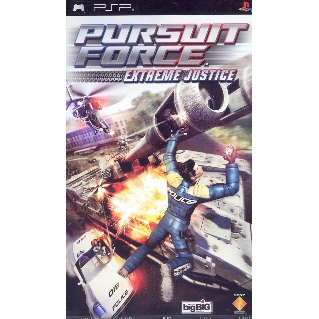 Pursuit Force: Extreme Justice (English Version)