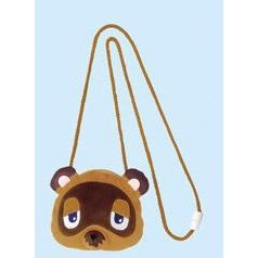 Animal Crossing Face Plush Pouch - Model A: Tom Nook