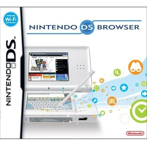 Nintendo DS Lite Web Browser