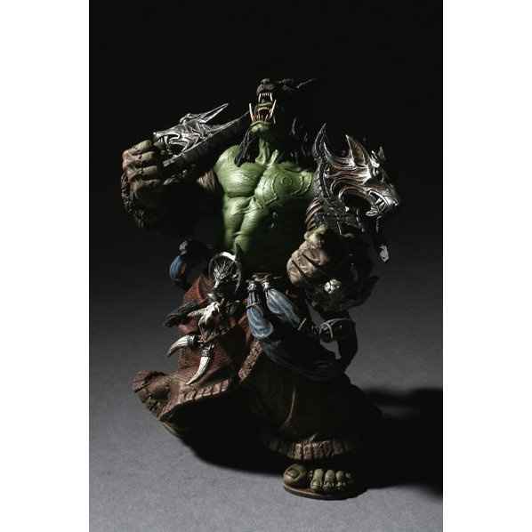 World of Warcraft Series 1: Orc Shaman - Rehgar Earthfury Collector Figure