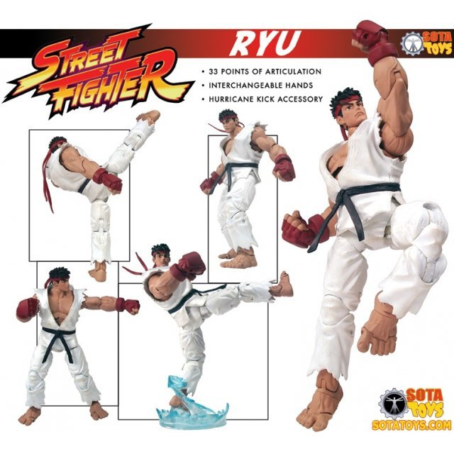 Street Fighter Preview Action Figure: Ryu