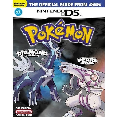 Pokemon Diamond & Pearl Official Nintendo Player's Guide [Damaged]