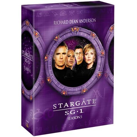 Stargate SG-1 Season5 DVD The Complete Box