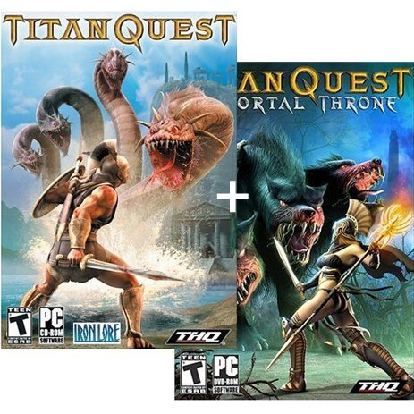 Titan Quest + Immortal Throne DVD Expansion Pack (CD-ROM + DVD-ROM)