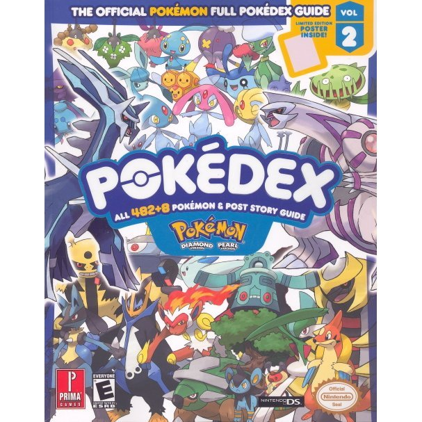Pokemon Diamond & Pearl Pokedex: Prima Official Game Guide Vol. 2