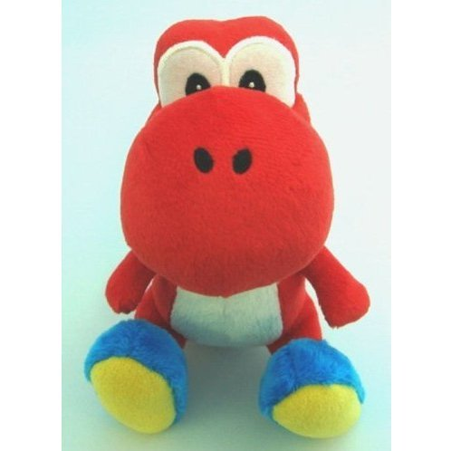Yoshi Island Colorful Stuffed Toy (Red)