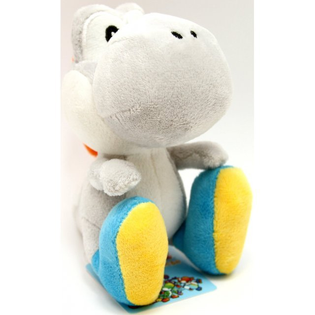 Yoshi Island Colorful Stuffed Toy (White)