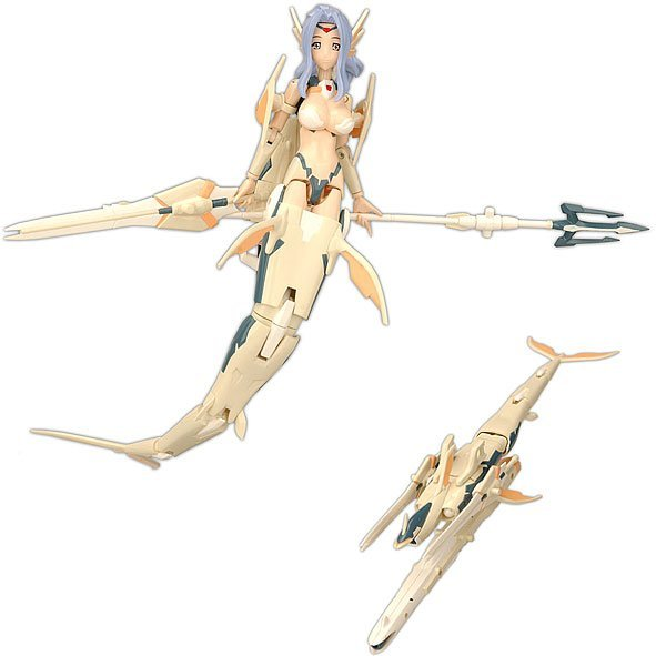 Busou Shinki Pre-Painted PVC Figure: MMS Type Mermaid - Ianeira