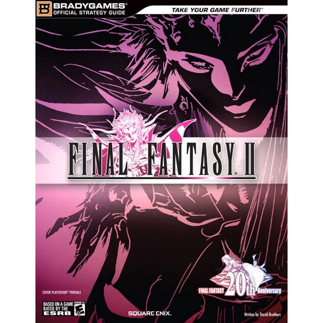 Final Fantasy II Official Strategy Guide