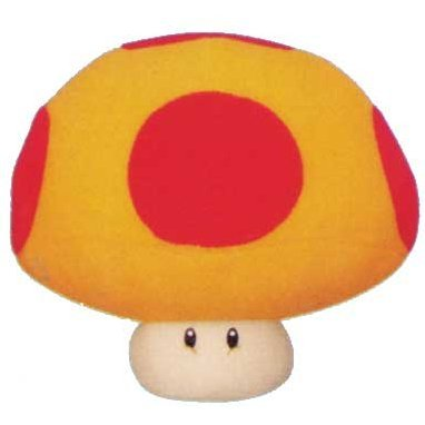 New Super Mario Bros. Plush Doll: Mega Mushroom