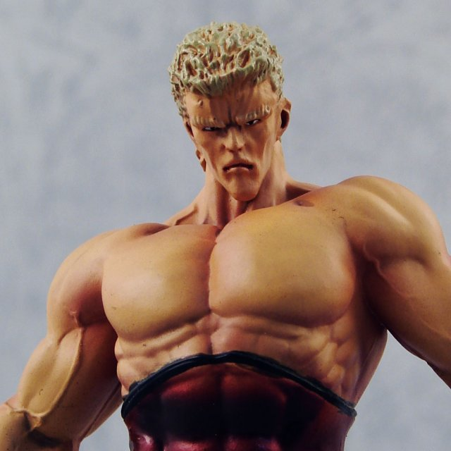 Fist of The North Star Episode 2 Master VS. Pupil Non Scale Pre-Painted Figure: Collection No.4 - Raoh