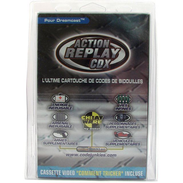 Action Replay CDX (French PAL Version)
