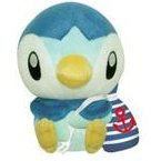 Pocket Monster Diamond & Pearl Marine Style Plush Doll: Piplup