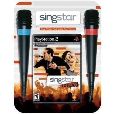 SingStar Amped with 2 Microphones