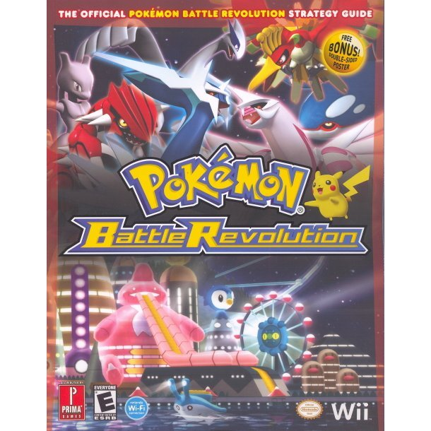 Pokemon Battle Revolution: Prima Official Game Guide