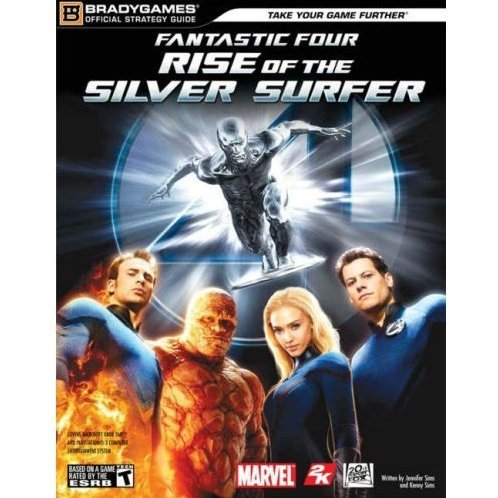 Fantastic Four: Rise of the Silver Surfer Official Strategy Guide