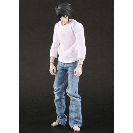 Real Action Heroes Death Note - L 1/6 Scale Figure (Re-run)