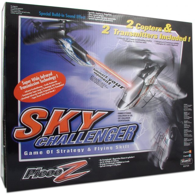 Picoo Z Infrared Control Helicopter (Sky Challenger)