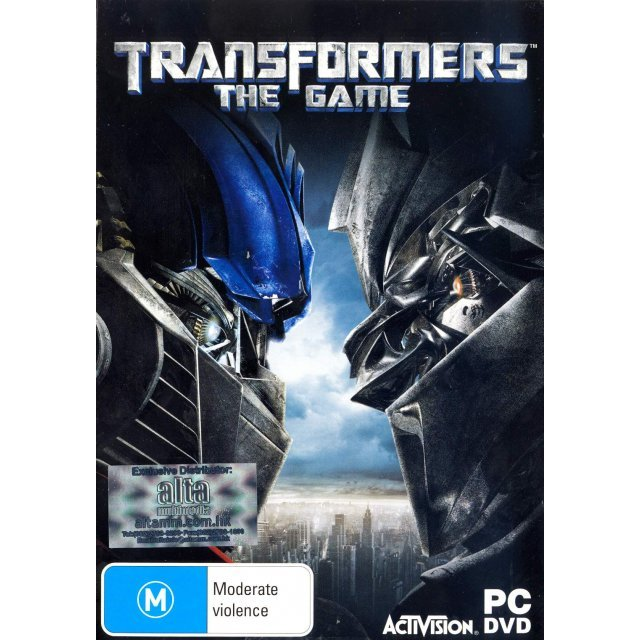 Transformers The Game (DVD-ROM)