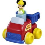Mickey Mouse Push and Go Dump Truck