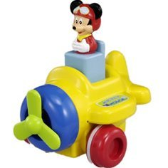 Mickey Mouse Push and Go Plane