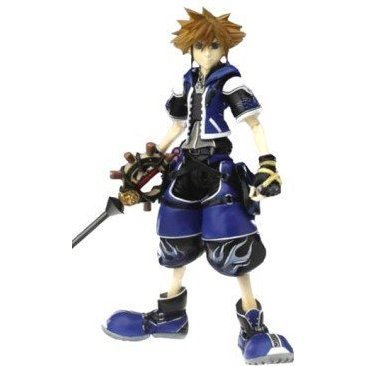 Kingdom Hearts II Play Arts Action Figure - Sora Wisdom Form