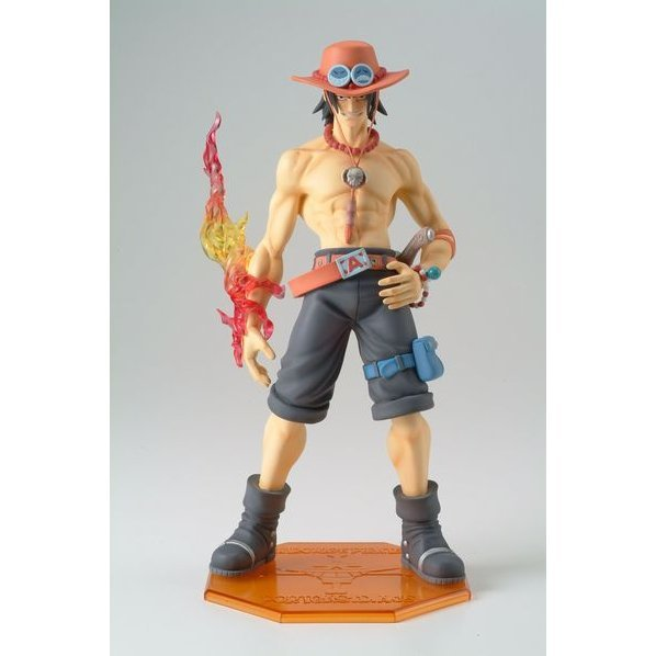 One Piece Neo-2 - Portraits of Pirates P.O.P. Excellent Model 1/8 Scale Pre-Painted PVC Figure: Portgas D Ace (Re-run)