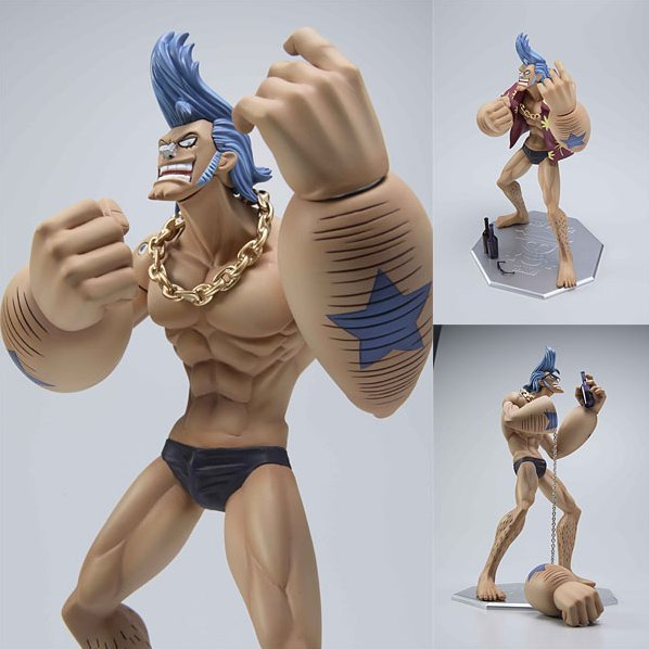 One Piece Neo-2 Portraits of Pirates P.O.P. - Franky 1/8 Scale Figure
