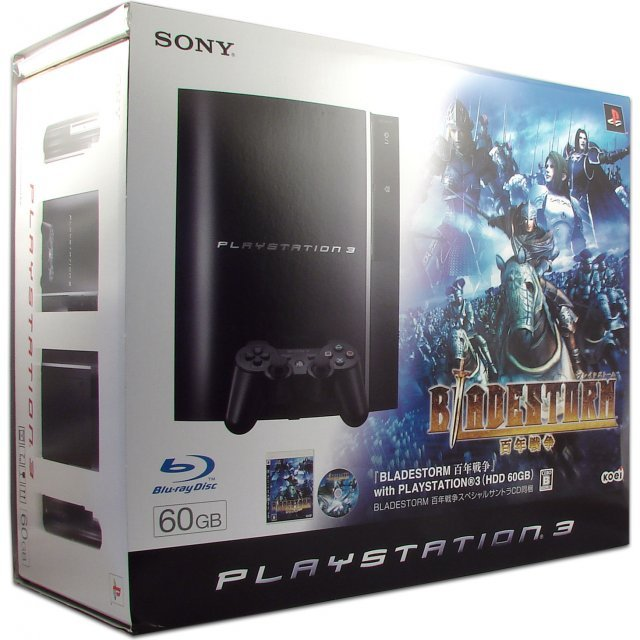 PlayStation3 Console (HDD 60GB Model) w/ Bladestorm: The Hundred Years' War - 110V