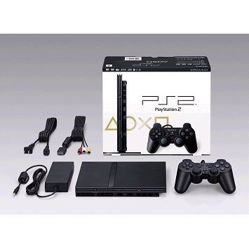 PlayStation2 Console Charcoal Black (SCPH-79000CB)