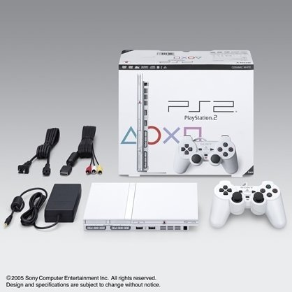 PlayStation2 Console Ceramic White (SCPH-79000CW)