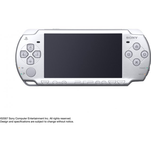 PSP PlayStation Portable Slim & Lite - Ice Silver (PSP-2000IS)
