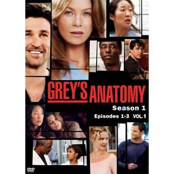 Grey's Anatomy Season 1 Vol