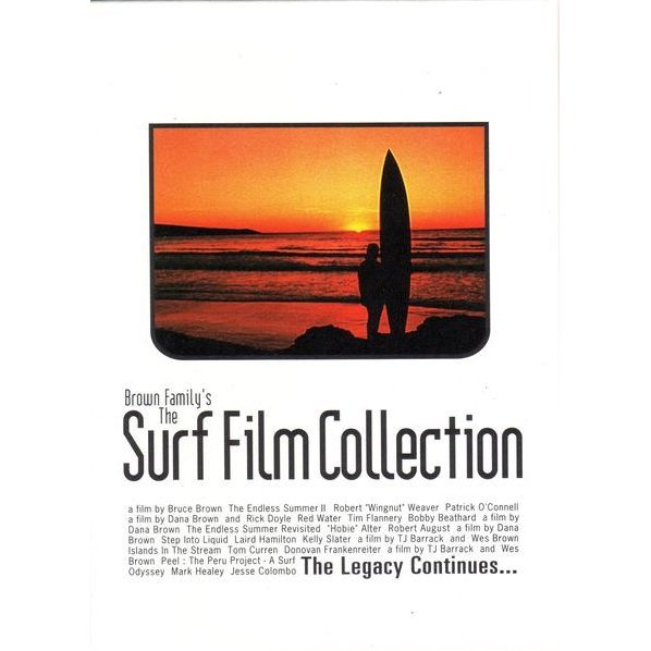 Brown Family Surf Film Collection DVD Box [Limited Edition]