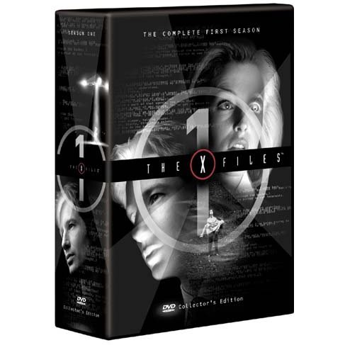 X-Files The First Season DVD Box