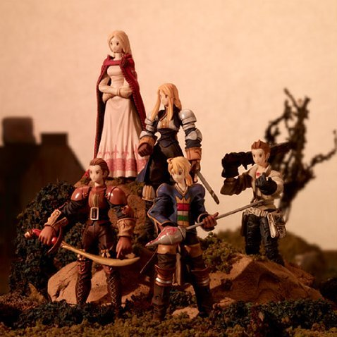 Final Fantasy Tactics Trading Arts
