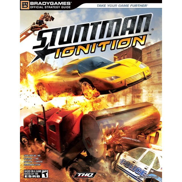 Stuntman Ignition Official Strategy Guide