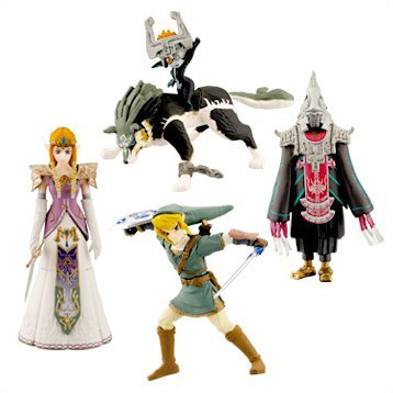 SR The Legend of Zelda Twilight Princess Figure Collection Gashapon
