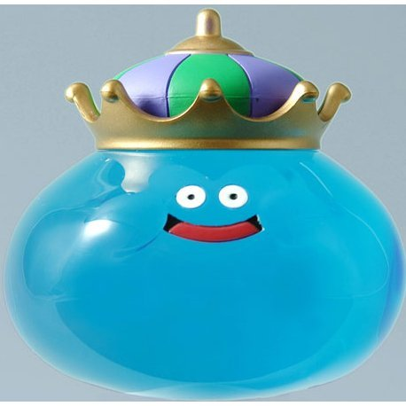 Dragon Quest Smile Slime Crystal Figure - King Slime (Blue)