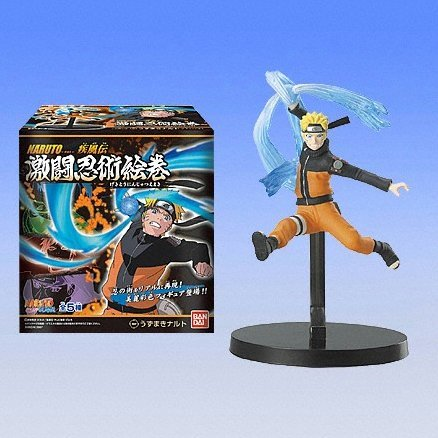 Naruto Shippuuden Collection Candy Toy