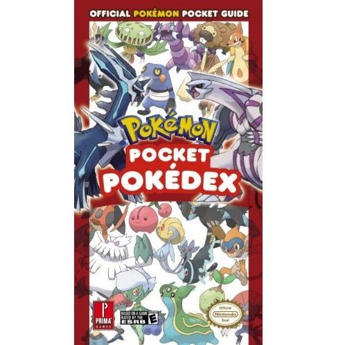 Pokemon Pocket Pokedex Vol.2: Prima Official Game Guide